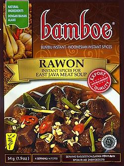 インドネシア料理 ラウォンの素 - RAWON 【bamboe】(FD-LOJ-73)