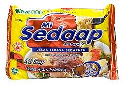 インスタント ヌードル スペシャルチキン味 【Mie Sedaap】 (FD-LOJ-81)