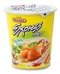 インスタント ヌードル チキン味 カップ 付き 【MAMEE】