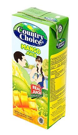 マンゴージュース【250ml】【Country choice】