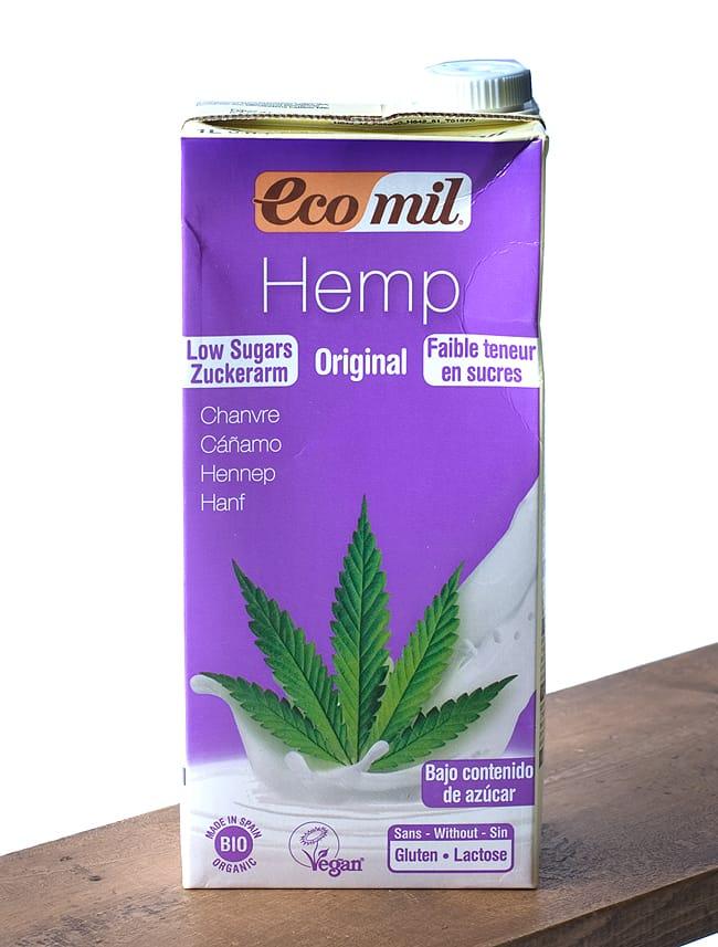 有機 ヘンプ ミルク 加糖 - Hemp Milk  Original Low Sugar 【ecomil】 6 -