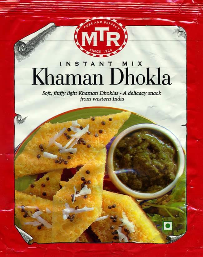インドお菓子  カマン ドークラの素 - KHAMAN DHOKLA Mix 【MTR】の写真