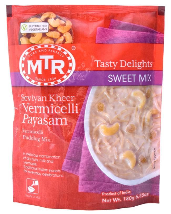 インドお菓子 バーミッチェリ パヤサンの素 - Vermicelli Payasam Mix 【MTR】の写真