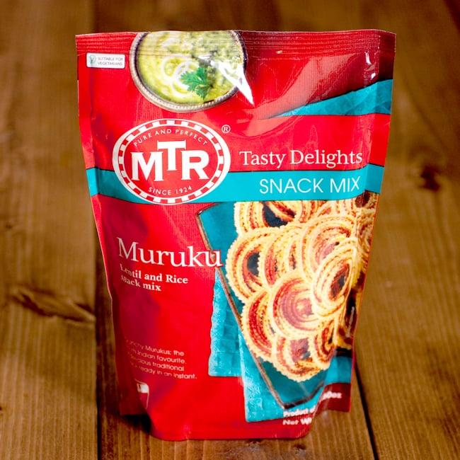 インドの軽食 ムルクの素 - MURUKU MIX 【MTR】の写真