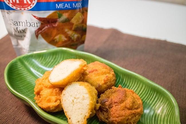ヴァダ の素 200g 小袋 - Vada Mix 【MTR】 4 - インドの甘くないドーナッツ、ワダをご家庭で楽しめるミックスです