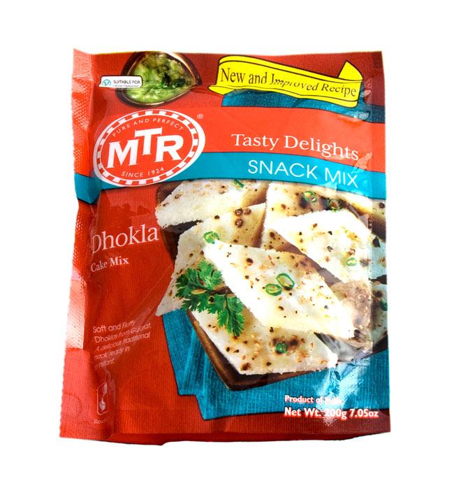 インドお菓子 ドークラの素 - DHOKLA Mix 【MTR】の写真