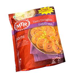 インドお菓子 ジュレビの素 - JALEBI Mix 【MTR】(FD-MIX-32)
