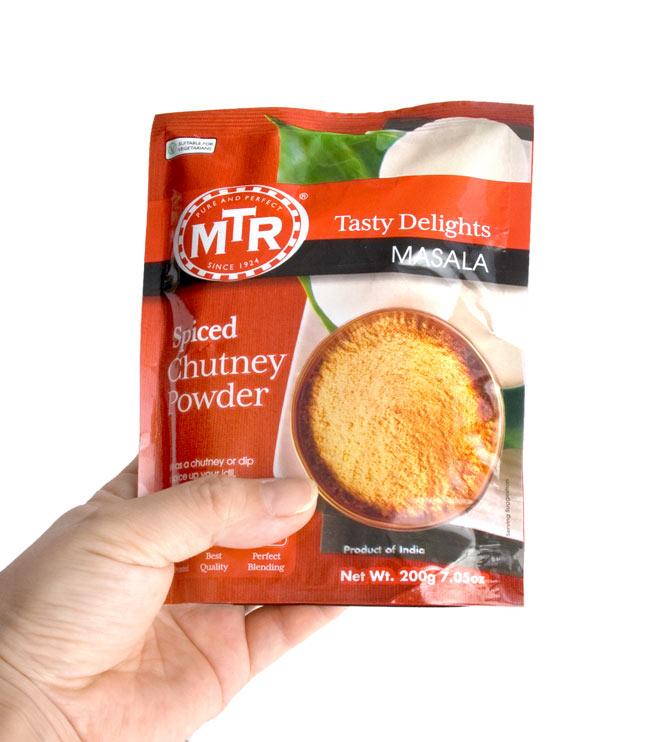 インド軽食 チャツネ パウダー - Spiced Chutney Powder Mix 【MTR】 2 -