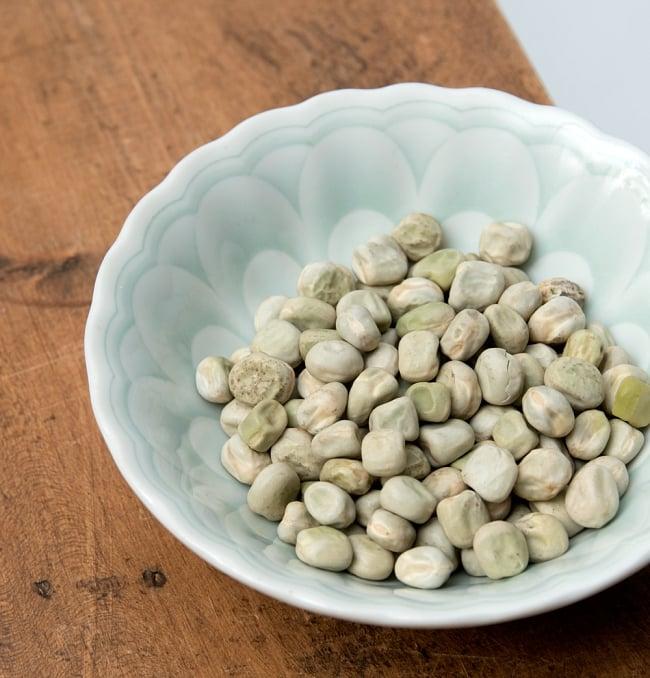 【大粒】乾燥グリーンピース 1Kg インドネパールのスパイスおかずに! 3 - 栄養素たっぷりの健康的な豆です。