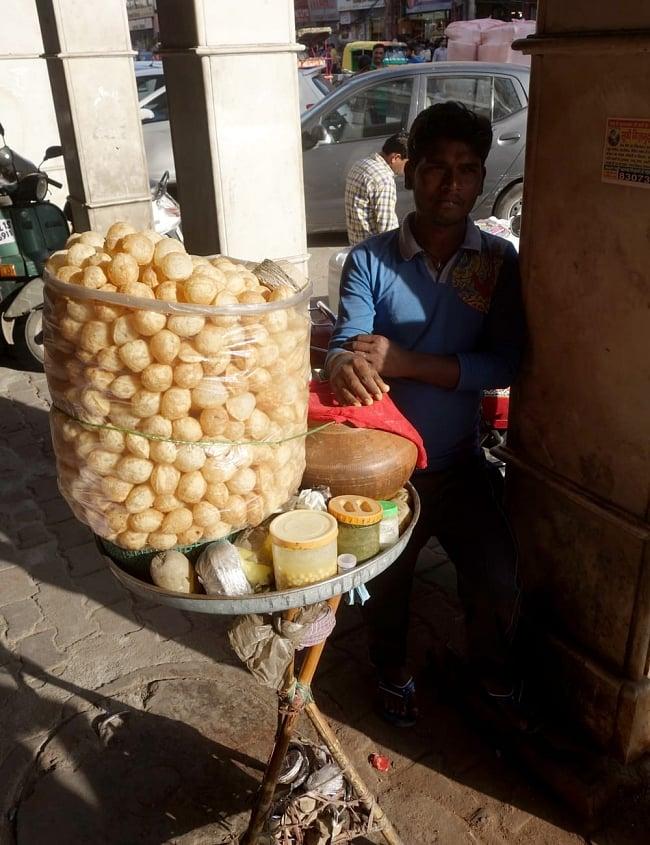 PANIPURI MASALA パニプリ・マサラ 50g 7 - インドではこの様にして売っています