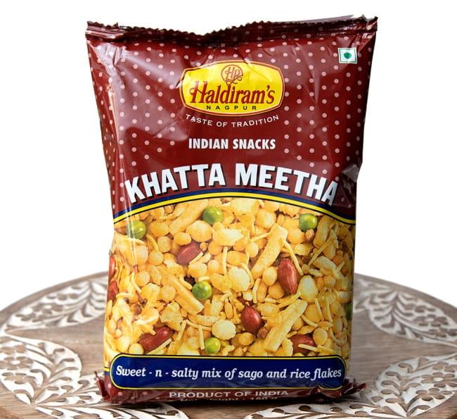 インドのお菓子 甘酸っぱいスナック - カッタミータ - KHATTA MEETHA の写真