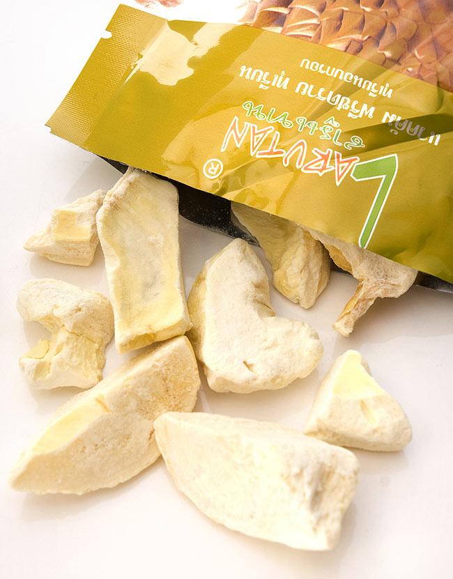 フリーズ ドライ フルーツ ドリアン -  Durian 【LARUTAN】の写真