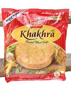 カークラマサラ - インド 薄せんべい  スパイシー Khakhra Masala 200g 【Jobsons】