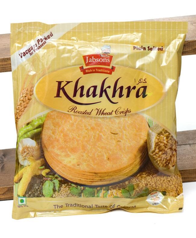 カークラ プレーン - インド 薄せんべい プレーン Khakhra Plain 200g 【Jobsons】の写真