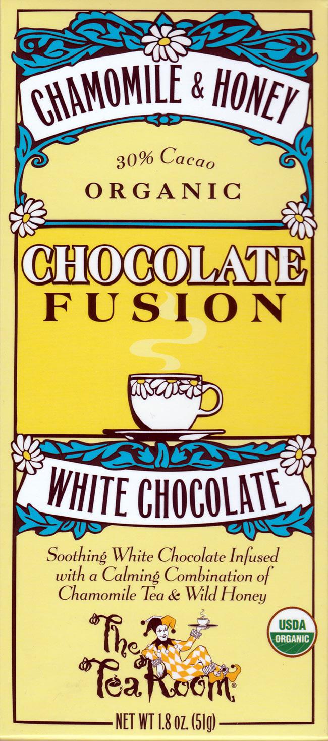 【冬季限定】オーガニックチョコレート - カモミール&ハニー - Chamomile &Honey 【The Tea Room】の写真