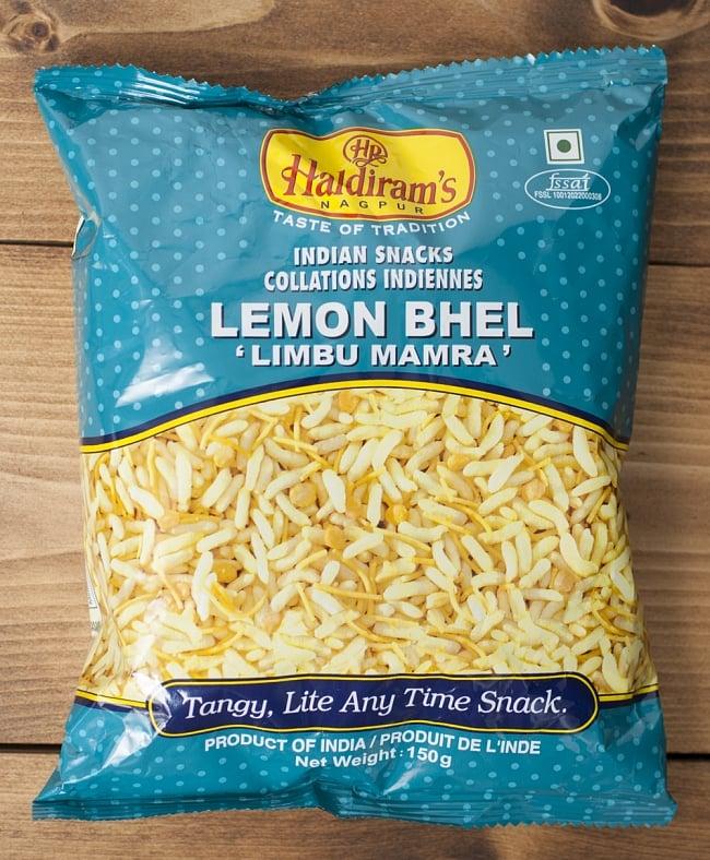 【Haldiram's】レモンベル-Lemon Bhel-インドお菓子の写真