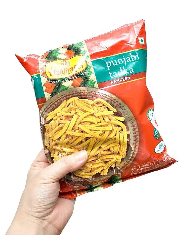 インドのお菓子 パンジャビタドッカ - PUNJABI TADKA 【Haldirams】の写真2 - 写真