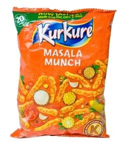 インドのスナック KurKure【Masala Munchi味】