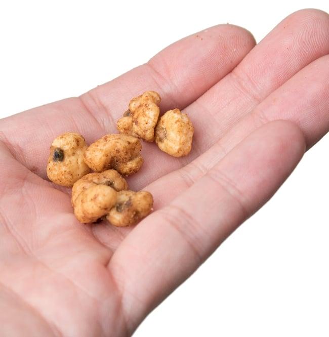 [本格・極辛]北インドカレー風味スナックナッツ 5 - 中身を手にとってみました