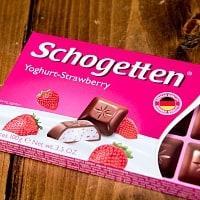 〔TRUMPF〕ドイツ製 トランフのチョコレート 人気のSchogettenシリーズ - ヨーグルトストロベリー