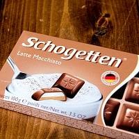 〔TRUMPF〕ドイツ製 トランフのチョコレート 人気のSchogettenシリーズ - ラテマキアート