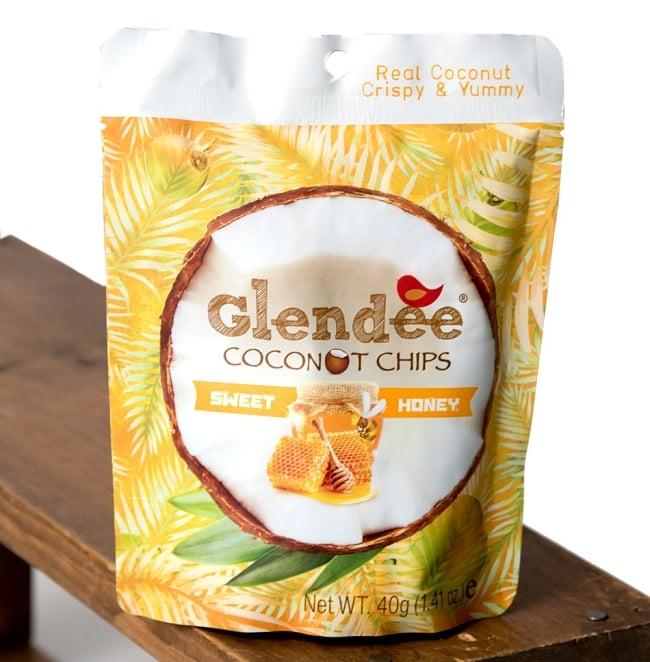 ココナッツチップス - スイート・ハニー味 【Glendee】 1