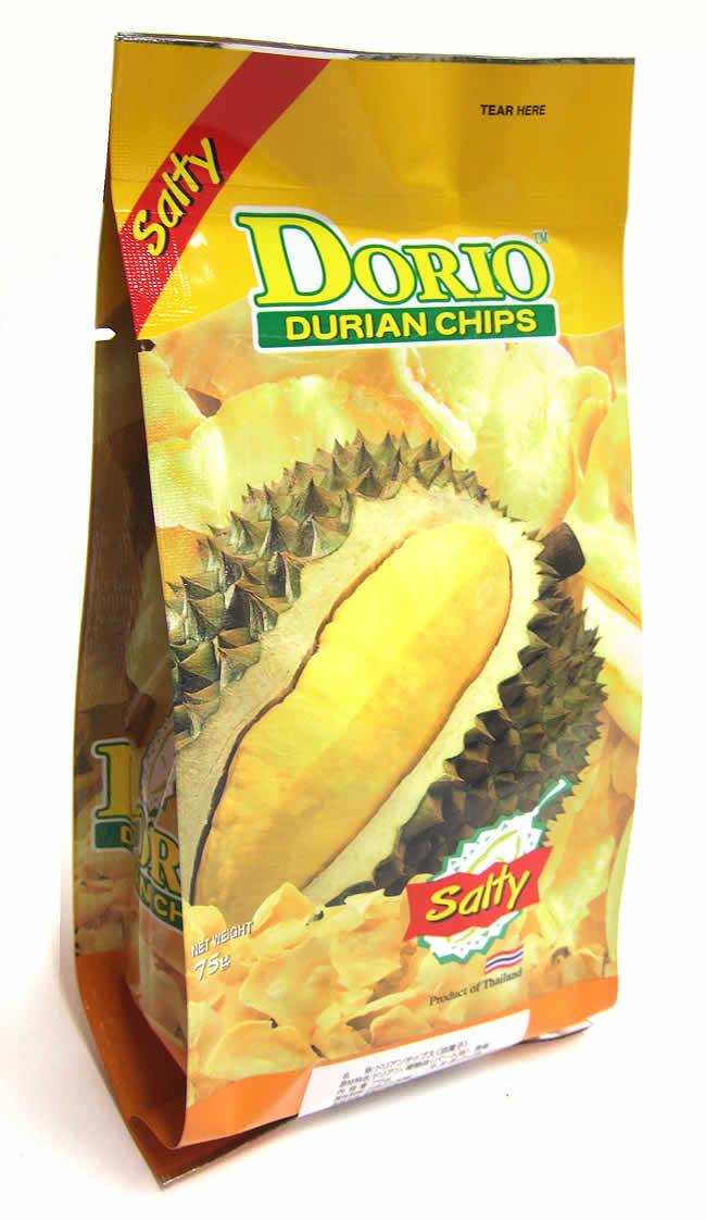 ドリアンチップス - ソルト味 [75g] 【DORIO】の写真