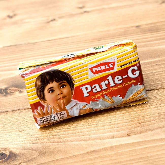 ミルキービスケット −パールジー 【Parle-G】 の写真