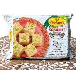 インドのお菓子 甘い甘い ソーン パブディ ココナッツ COCONUT SOAN PAPDIの写真1