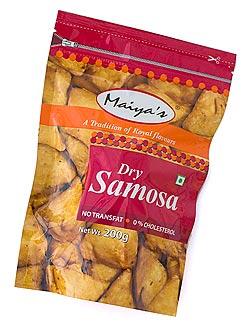 インドのお菓子 ドライサモサ - DRY SAMOSA  【Maiyas】(FD-SNK-65)