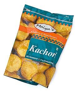 インドのお菓子 豆粉とスパイスのスナックボール - KACHORI 【Maiyas】(FD-SNK-67)