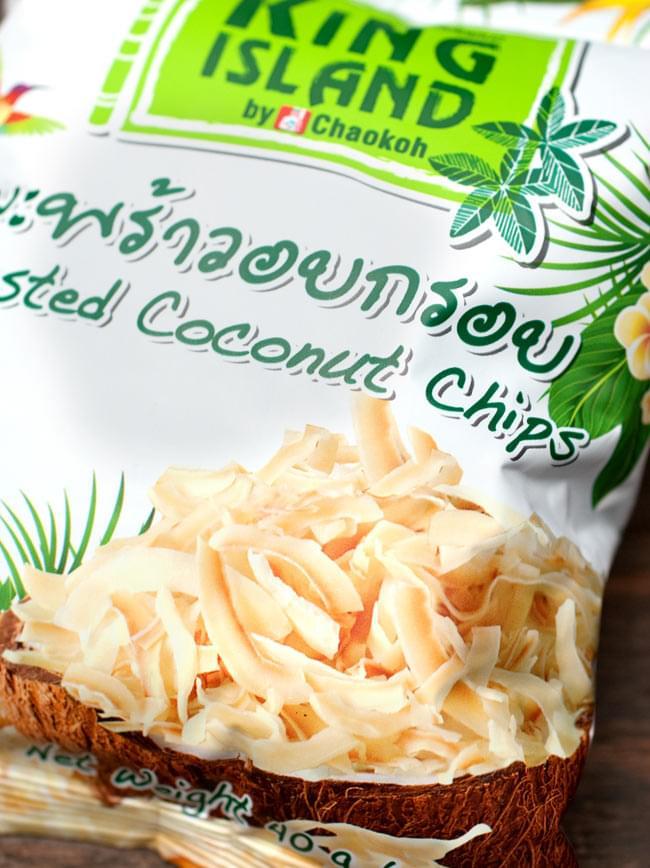ココナッツチップス 40g 【KING ISLAND】の写真