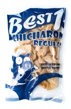 チチャロン スナック - 豚皮の唐揚げ レギュラー味 Chicharon Regular 【Best1】