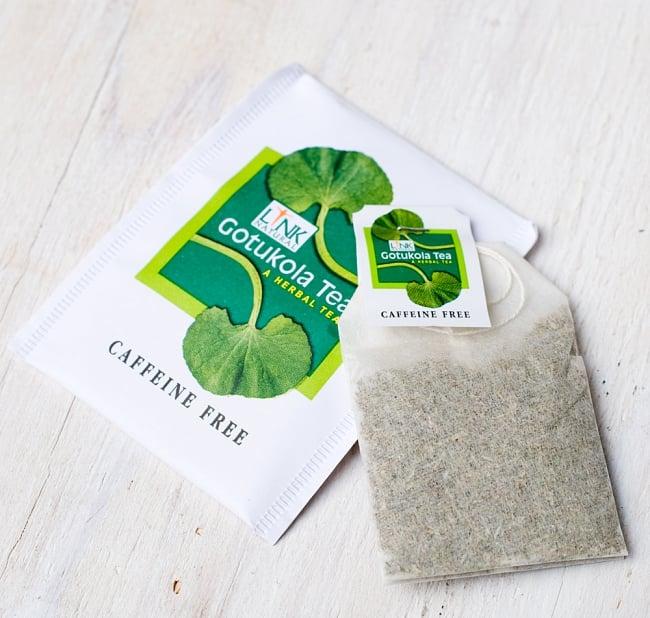 ゴトゥコラティー【ゴツコラティ】 - Gotukola Tea 【LINK NATURAL】 7 - 中身はティーバッグです