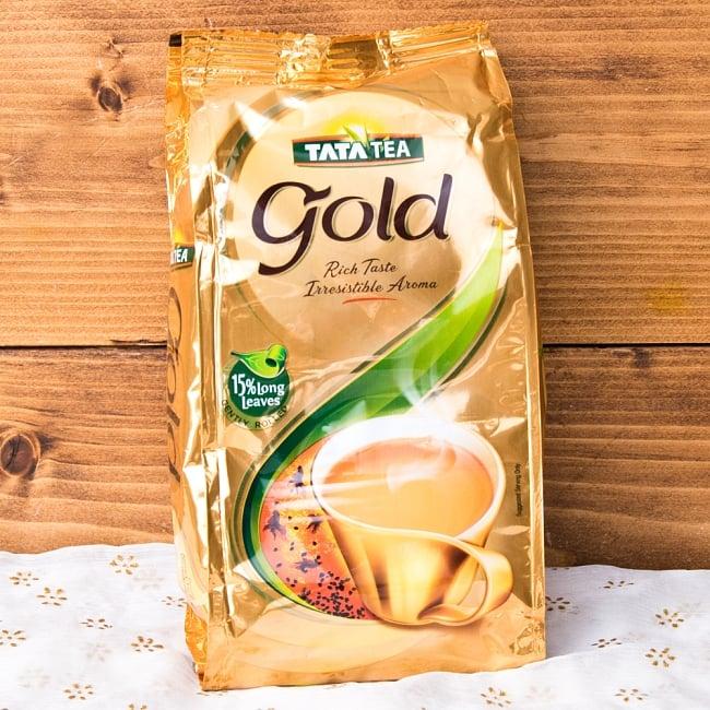 チャイ用紅茶- TATA TEA Gold CTC (袋入り)【250g】の写真