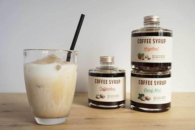 コーヒーシロップ - チャイスパイス 3 - 牛乳や豆乳と割ってカフェオレとしてお楽しみいただけます。