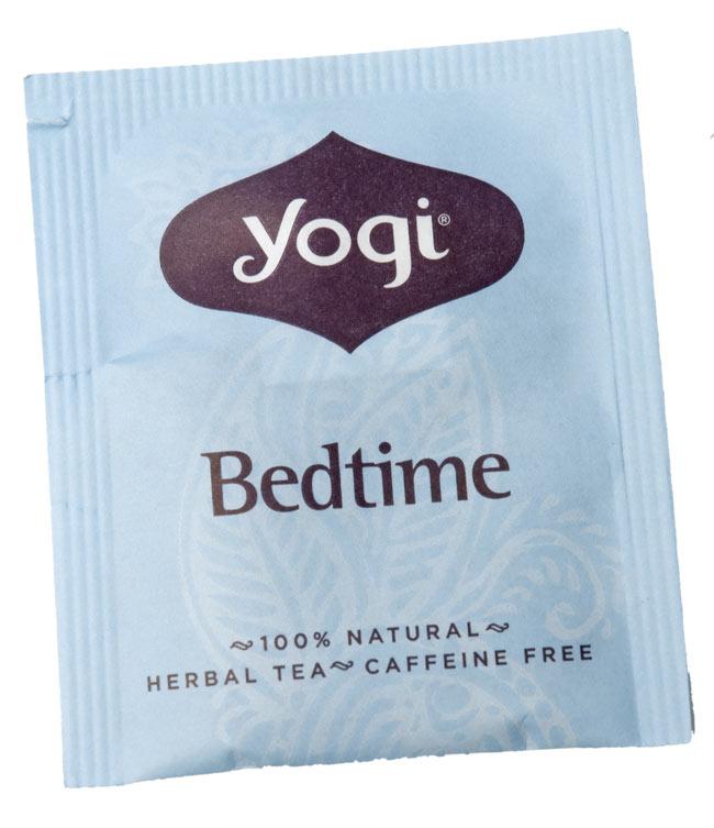 ベッドタイム【Yogi tea ヨギティー】 - 個包装もおしゃれなメヘンディ柄がありますよ。
