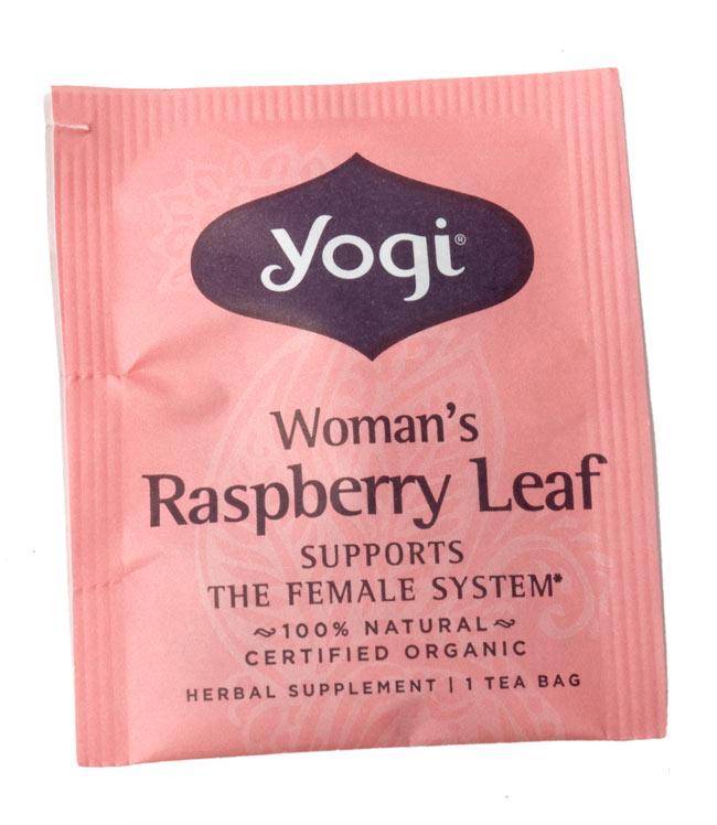 ウーマンズ・ラスベリーリーフ【Yogi tea ヨギティー】 -