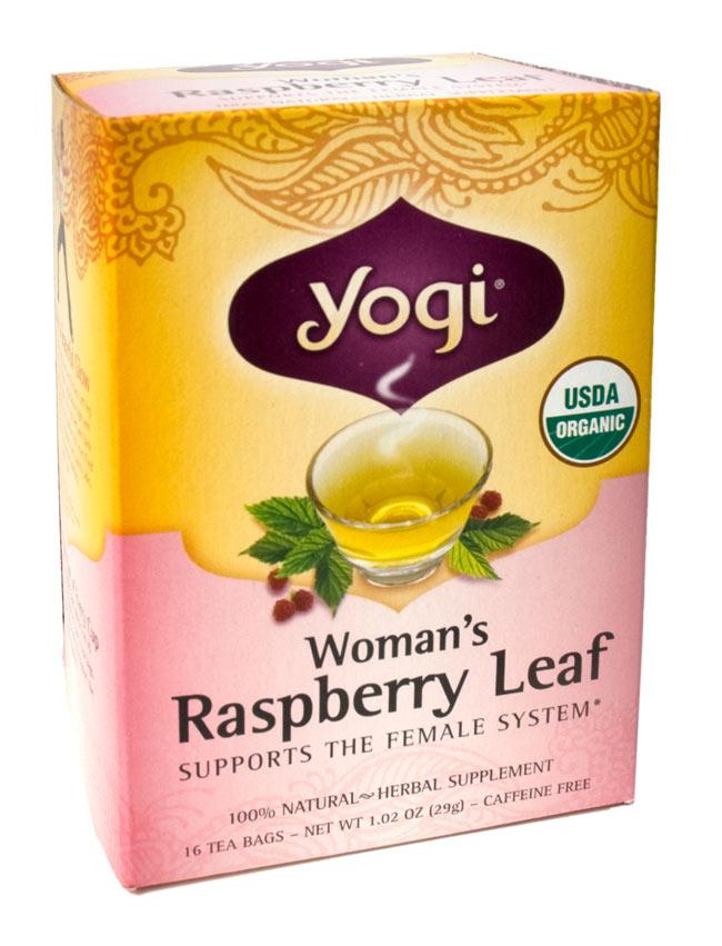 ウーマンズ・ラスベリーリーフ【Yogi tea ヨギティー】の写真1