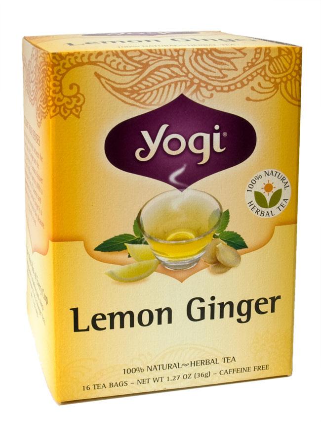 レモンジンジャー【Yogi tea ヨギティー】の写真1