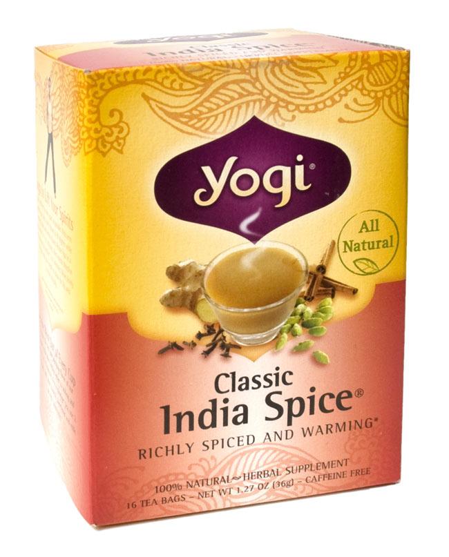 クラシックインドスパイス【Yogi tea ヨギティー】の写真