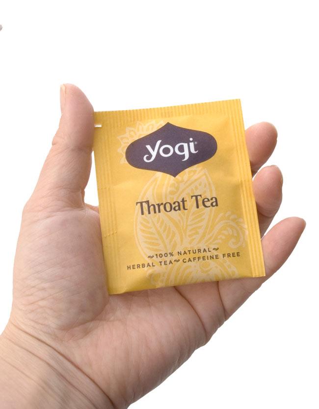 スロートティー - Throat Tea【Yogi tea ヨギティー】 3 - 個包装もおしゃれなメヘンディ柄がありますよ。