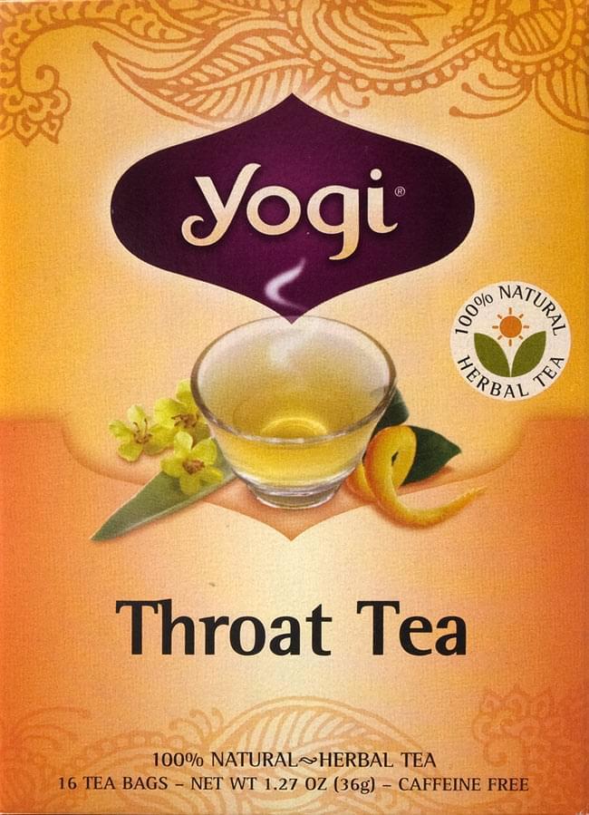 スロートティー - Throat Tea【Yogi tea ヨギティー】の写真