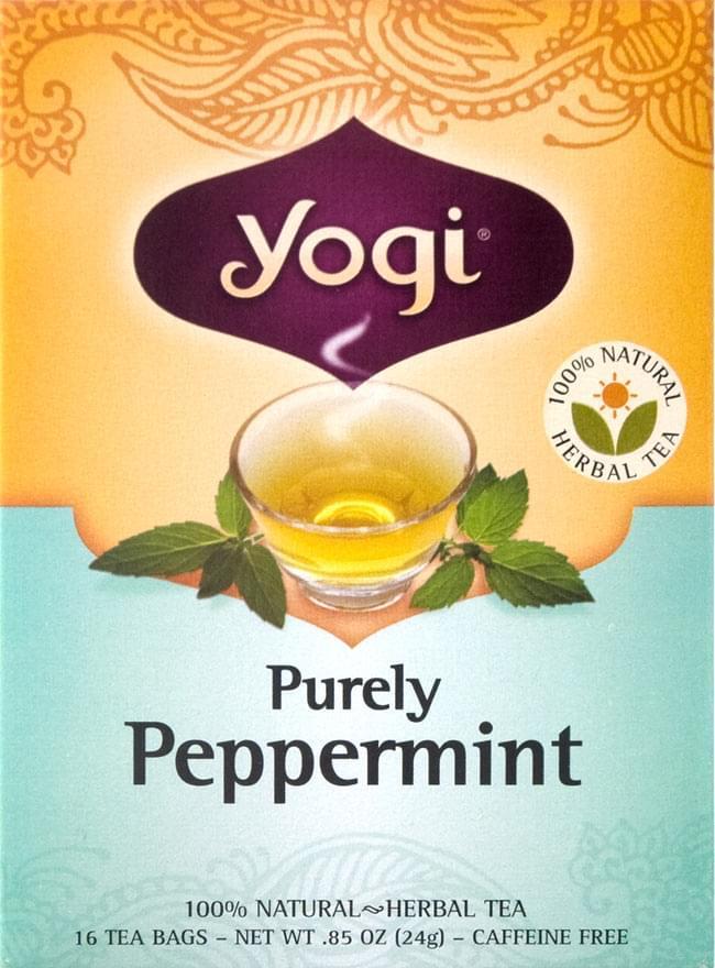 ピュアリーペパーミント - Purely Pepper Mint【Yogi tea ヨギティー】の写真