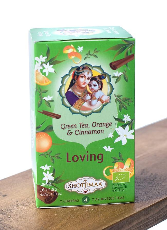 オーガニック ハーブ ティー Loving 愛すること 〜 シータとベイビークリシュナ 〜 【Hari s Treasure】 2 - インドの好色神のクリシュナの子供時代。イケメンで彼女が2万人だか、20万人だか?とにかくたくさんいる。