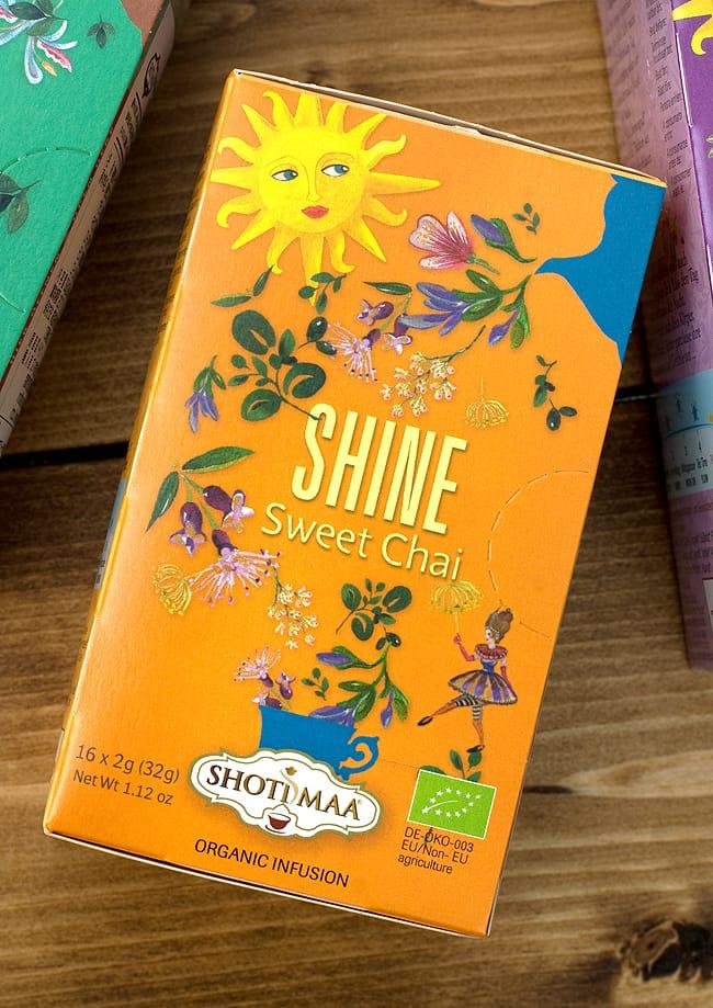 オーガニック スウィート チャイ Let it happen 〜Shine〜 【Haris Treasure】の写真