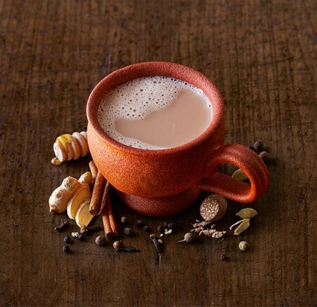 スパイシーリキッドチャイ - Spicy Chai 【Torani】  3 - ホットミルクを使うか、牛乳で割った後に電子レンジで温めてもOK