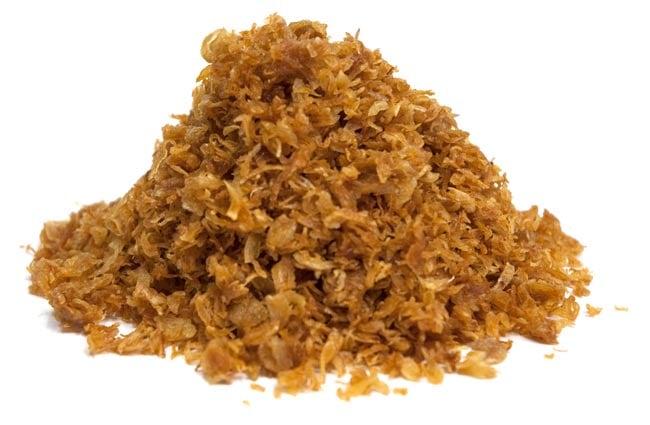 フライド レッド オニオン − ホムチョウ 【100g】の写真3 - ホムデンをスライスして、カラッと揚げました。香ばしい香りがたまらない!!