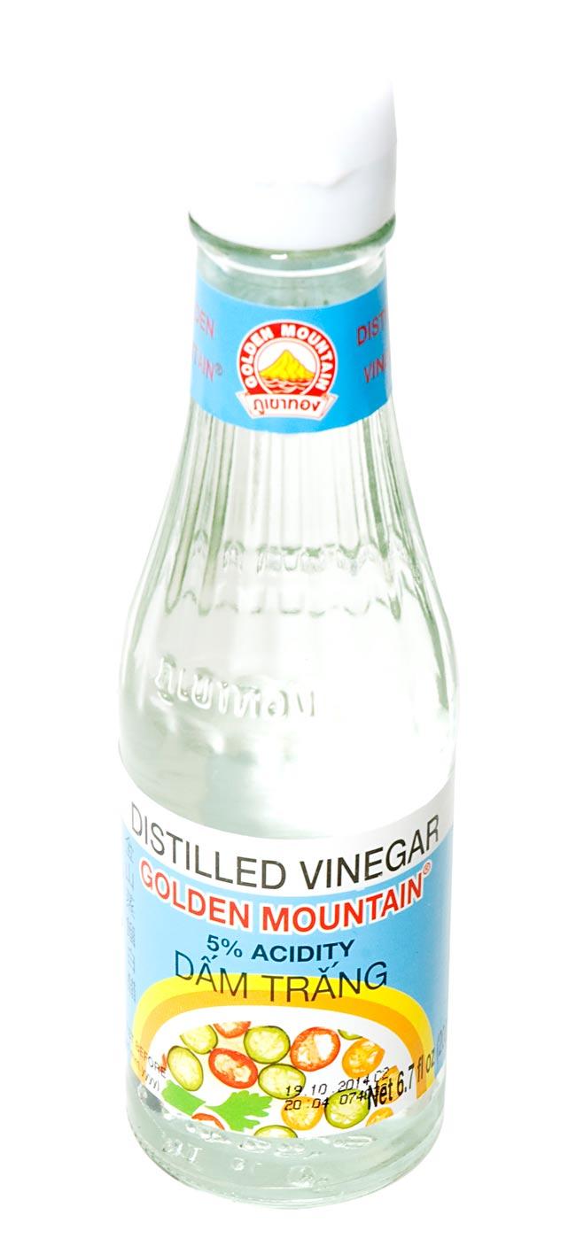 ビネガー (酢) 瓶 Sサイズ [200ml]の写真