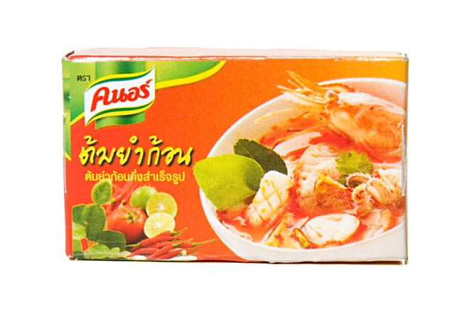 トムヤム キューブ [24g] 【Knorr】の写真